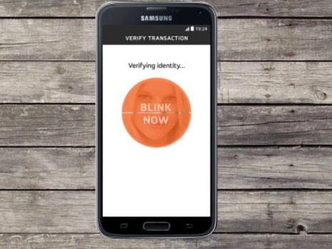 Selfie banking Mastercard