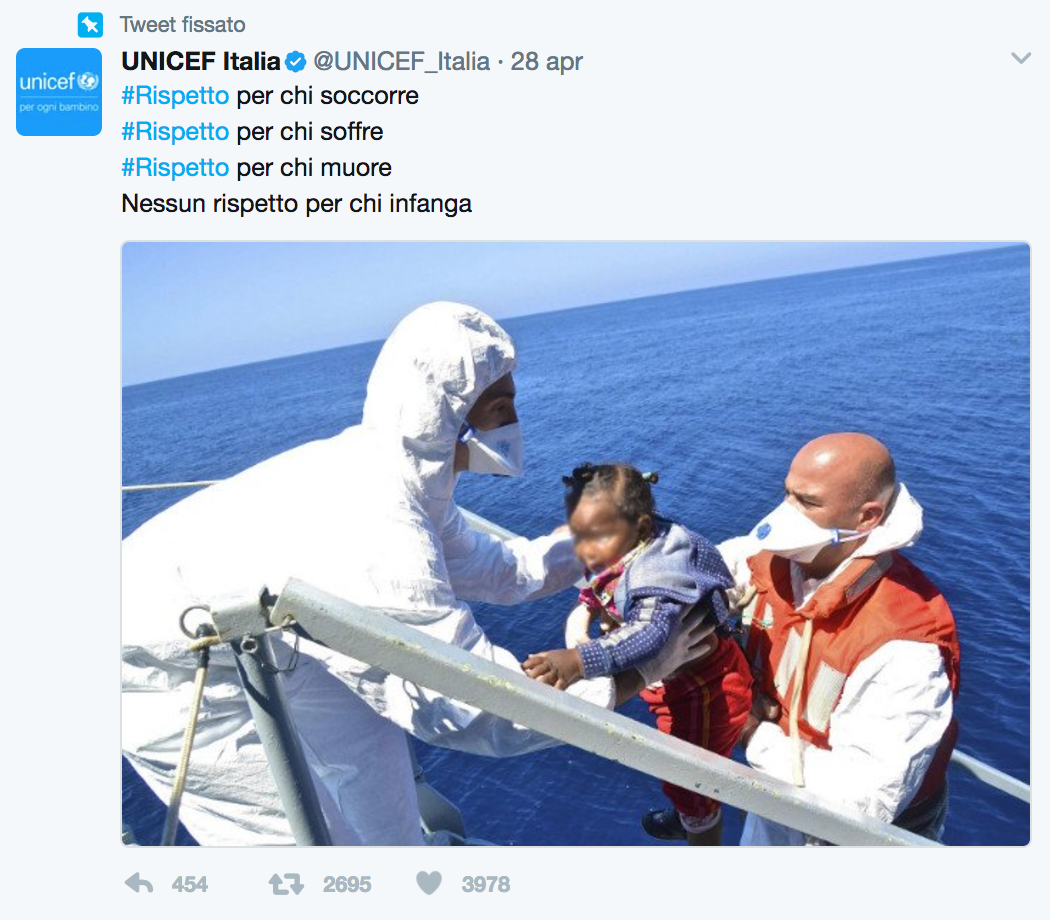 The Vortex - social media unicef